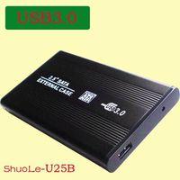Wholesale 2 inch USB HDD Case Hard Drive SATA External Enclosure Box Type USB3 SATA HDD Enclosure Freeshipping