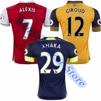 arsenal patch - TOP Thai Quality Arsenal Jerseys OZIL Training suit WILSHERE RAMSEY ALEXIS Soccer rugby football shirt Free patch Free ship