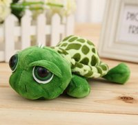 Wholesale Stuffed Turtles Big Eyes - 1 Piece Size 18cm Lovely Big Eyes Small Turtle Tortoise Doll Stuffed Plush Toys Girls Child Baby Gifts