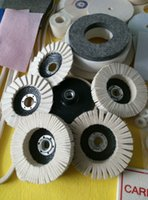 Wholesale Low price natural Wool Hard Glass Polishing Wool Felt Wheel Made in China
