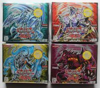 Wholesale 216 set Yugioh cards pack contain rare card per pack Konami shadow specter version board game yugioh box send random