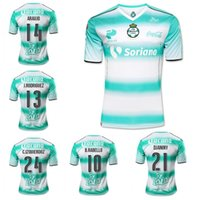 Wholesale 2016 Santos Laguna soccer jerseys mexico liga shirts top quality football shirts