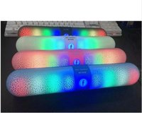 better speakers - 2016 new wireless RC1038 Colorful Mini LED Bluetooth Speaker Pulse Speaker Support TF Card FM Radio better than BT808 JHW