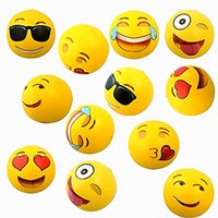 adult balloons - Inflatable Beach Balls Inflatable Emoji Ball Inches Pack Inflatable Emoji Beach Water Balloons Balls For Kids and Adult Outdoor Play