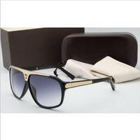 Wholesale Vintage Designer L Sunglasses Lunettes High Quality Double Bridge Men Women Summer Glasses Luxury Designer Fashion Outdoor V Sun Glasses