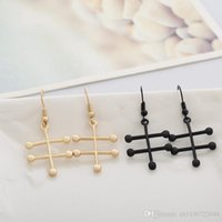 alcohol chemicals - 2016 HOT ALCOHOL Earrings Molecule Structure Trendy Simple Jewelry Perfectly Symmetrical Chemical Formula Eardrops For Women