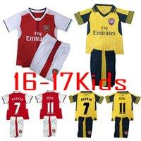 arsenal youth jersey - kids Arsenal soccer jersey Kits ALEXIS WILSHERE GIROUD CHAMBERS OZIL chilld youth football shirts