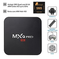 Wholesale MXQ Pro K Kodi TV Box Streaming Media Player DLNA Miracast S905 Quad Core GB GB Hardware Decoding WIFI Miracast DLNA TV Box