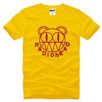 alternative mens - 2016 Summer Style Rock Radiohead T Shirt Men Short Sleeve Cotton Punk Alternative Rock Radiohead Logo Mens T shirt Fashion Hip Hop Tops Tee