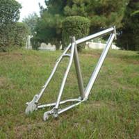 Wholesale Titanium Mountain Bikes Ti B Bike Frame Ti Inch MTB Frame Rohloff Sliding Dropouts