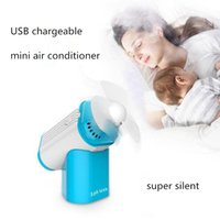 Wholesale Mini Perfume Turbine USB Fan Portable Handheld Air Condition Rechargeable Super Silent Cooling Fans Aroma LJJG410