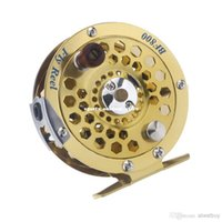 arrivals reel - New Arrival Full Metal Aluminum alloy Fly Fishing Fish Reel Former Ice Fishing Vessel Wheel BF800A mm m H12383