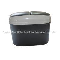 Wholesale high quality hot sale plastic waterproof Mini Car Vehicle Trash Bin waste bin can box With Holder Hook