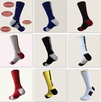 Wholesale wholesales USA Professional Elite Basketball Socks Long Knee Athletic Sport Socks Men Fashion Compression Thermal Winter Socks