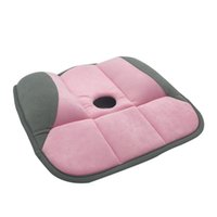 Wholesale New office soft massage seat cushion lady s beauty hip butt push up yoga orthopedic pads for car chair anti back ache cushion