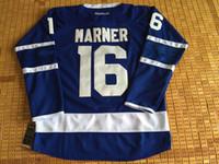 Wholesale leafss Draft MARNER Matthews Lupul Gilmour van RIEMSDYK Clark White Blue Hockey Jerseys Stitched Mix Order