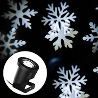 Wholesale Xmas Lights White Snow Sparkling Landscape Projector For Outdoor Garden Tree House Wall Decoration Lamp Led Light for Holiday