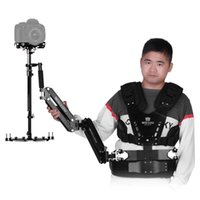 armed vest - Wieldy HD Iron Triangle Carbon Fiber Handheld Video Stabilizer with Steadycam Vest Arm Kit for DSLR Video Camera Camcorder D4194