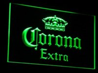 Wholesale a013 Corona Extra Beer Bar Pub cafe LED Neon Sign with On Off Switch Colors to choose