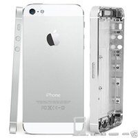 Wholesale High quality full Back Battery Cover Middle Frame Metal Back Housing For iphone