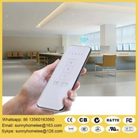 Wholesale Wireless remote control motorize roller shade for home and office battery and electric operate USA favorite style with fabric size customed