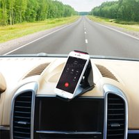 Wholesale 360 Rotation Universal Portable Cell Phone Car Holder For iphone S S plus inch Tablet Car Mount Support Stand