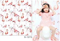 Wholesale 5x6 ft x200cm Photographic Background Flamingos For Children Background Backdrop