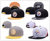 Wholesale Discount Football Pittsburgh Snapbacks hats Steelers Caps Brand Sports Team Hats Draft Highly Snapback Sporting Hats Cotton men women Cap