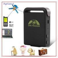 Wholesale Topcartool OBDDIY GPS GSM GPRS tracker Mini Car GPS Tracker GSM GPRS Tracking Device For Vehicle Person Kids Pet Elderly Security