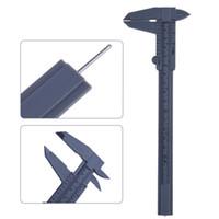 Wholesale 6 quot mm Plastic Ruler Sliding Gauge Vernier Caliper Jewelry Measuring