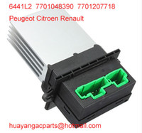 Wholesale Peugeot Citroen C2 C3 Renault heater blower fan motor resistor L2