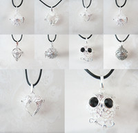 bell babies - Mexican Bola Chime Ball Angel Caller Pendant Women Pregnancy Baby Hollow Cage Bell Pendant Fit mm Chime Ball