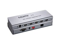 Wholesale 50pcs k x4 HDMI splitter with IR extension and EDID mangement function is d hdmi splitter x4