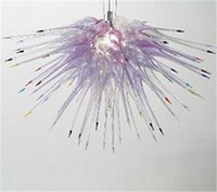 bedroom items - LR235 Chihuly Style Hand Made Murano Art Glass Decorative Chandelier for Indian Home Decoration Item