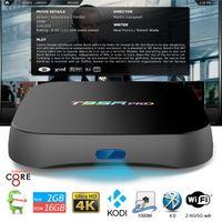 dual core - Genuine T95R pro TV Box Android gb gb Kodi fully loaded S912 TV Box Octa Core Gigabit Ethernet dual wifi G G BT4 D K