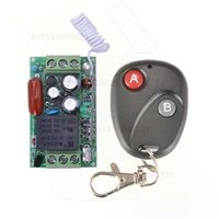 Wholesale 220V CH A RF Wireless Remote Control Switch System Receiver Transmitter Learning Code output state is adjusted