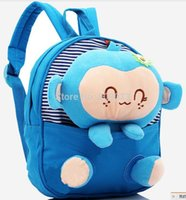 baby doll manufacturers - Children s school bags Cotton backpack Kindergarten baby cartoon doll bag manufacturers