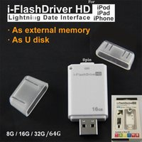 ac reader - U disk i Flash Drive HD Micro SD Memory Card Reader Adapter For iPhone iPad iPod Usb interface flash drive for PC AC GB