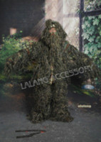 Wholesale New Arrival set Stealth camouflage suit grass type hunting clothing Sniper tactical camouflage suit cx671599