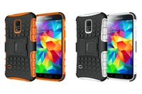 active shock - Galaxy S5 Case S5 phone case drop shock Samsung Galasxy S5 Case White and Orange Not fit Samsung Galaxy S5 Active or S5 mini
