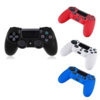 Wholesale Ps4 Colorful Waterproof and Dustproof Silicone Protection Skin Soft Skin Rubber Case Cover For Ps4 Controller Grip