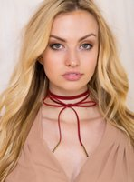 Wholesale Jewelry necklace around the neck strap cloth family name wind Bohemia necklace