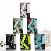 cute mp3 earphone - New Arrival EV mm Candy Color Cute Folding Earphone Headphones Headset For iPhone Mobile Phone MP3 player Computer