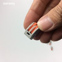 Wholesale Easy Fast Wire Connector for Led Lighting A mm Cross section for Power Supply Terminal Holes No Installation