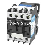 Wholesale V KW Phase P N O AC Contactor DIN Rail Mount V Coil CJX2