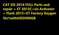 activator repair - FOR NEW SIS FULL Parts and repair ET C sis Activator Flash ET Factory Keygen in1withHDD500GB for cat