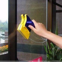 Wholesale Magnetic Window Cleaner Double Side Glass Wiper Useful Surface Brush High efficiency Cleaning Tools