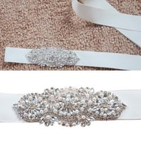 active women images - High Quality Crystal Beads Pearls Bridal Sashes Real Image White Ivory Bridal Belts For Wedding Evening Party CPA783