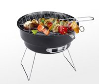 Wholesale portable bbq cooking tools barbecue stove smokeless bbq grill for outdoor essential small circular grill