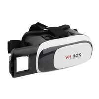 Wholesale Universal Google Cardboard VR BOX Virtual Reality D Glasses Game Movie D Glass For iPhone Android Mobile Phone Cinema Newest